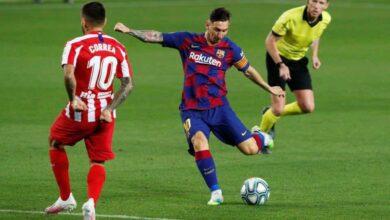 صورة أهداف مباراة برشلونة واتلتيكو مدريد فى الدوري الاسباني