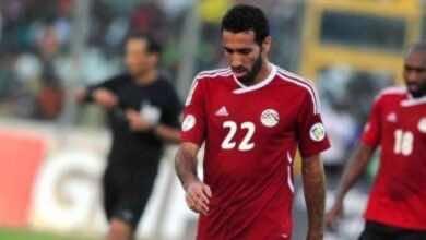 محمد أبو تريكة مع منتخب مصر (صور:Google)