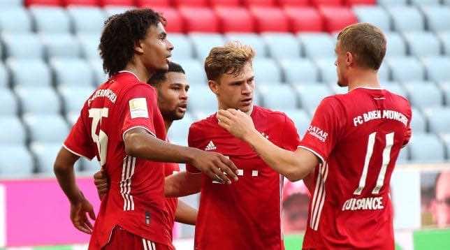 نتيجة مباراة بايرن ميونخ وبوروسيا مونشنجلادباخ فى الدوري الألماني