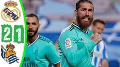 صورة فيديو أهداف مباراة ريال مدريد وريال سوسيداد في الدوري الاسباني