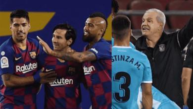 """صورة الكشف عن السبب """"الغريب"""" لطرد مدرب منتخب مصر السابق أمام برشلونة"""