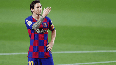صورة ميسي على وشك تجديد عقده مع برشلونة