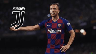 يوفنتوس يتوصل لاتفاق لضم آرثر ميلو من برشلونة بملبغ ضخم