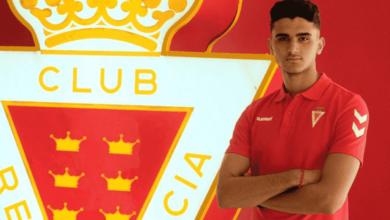 صورة رسميًا | بعد تسريحه من ألميريا..المغربي يونس لشهب يعود إلى ريال مورسيا