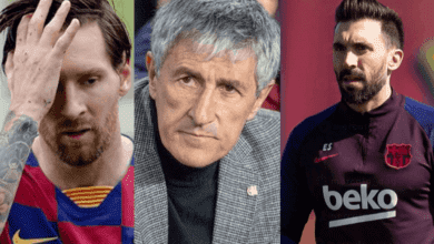 كيكي سيتين يعلق على واقعة ميسي وسارابيا، وخلافه مع لاعبي برشلونة
