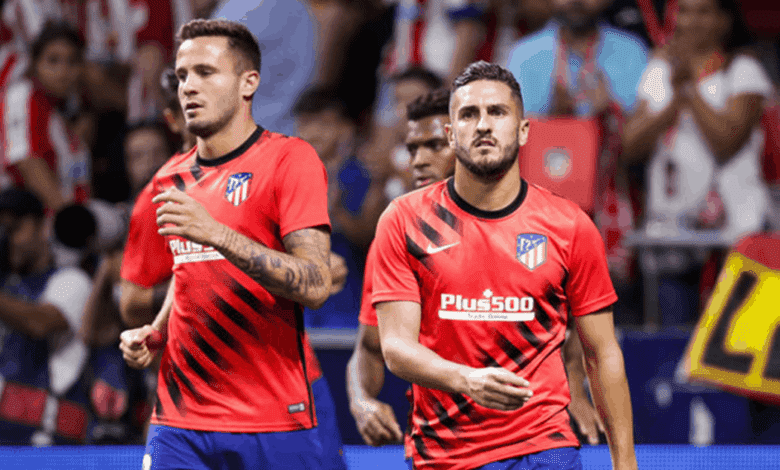 نجم أتليتكو مدريد يغيب عن مواجهة برشلونة اليوم