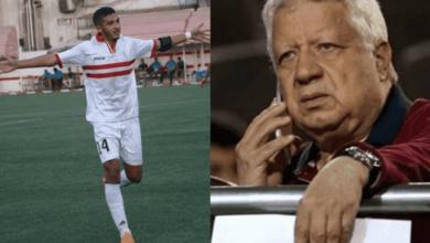 مرتضى منصور في ورطة بسبب عقد سيف فاروق جعفر مع الزمالك