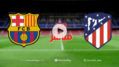 صورة بث مباشر | مشاهدة مباراة برشلونة واتلتيكو مدريد في الدوري الاسباني