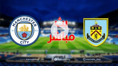 صورة بث مباشر | مشاهدة مباراة مانشستر سيتي وبيرنلي في الدوري الانجليزي