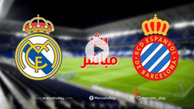 بث مباشر   مشاهدة مباراة ريال مدريد واسبانيول في الدوري الاسباني