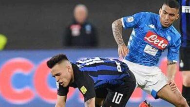 قناة ليبيا تنقل مباراة نابولي والإنتر في كأس إيطاليا