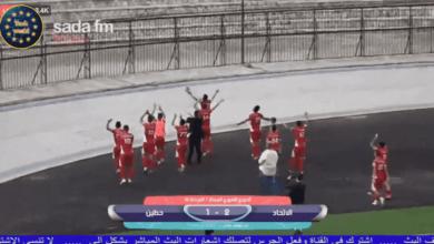 صورة جميع نتائج مباريات الجولة الـ19 من الدوري السوري
