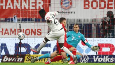 صورة بايرن ميونخ يفلت من فخ فرانكفورت ويبلغ نهائي كأس ألمانيا