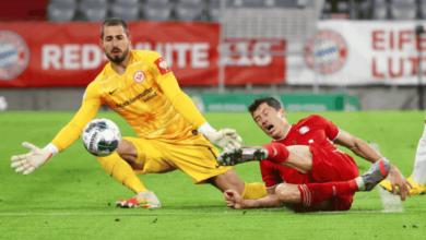 صورة فيديو أهداف مباراة بايرن ميونخ وآينتراخت فرانكفورت في كأس ألمانيا