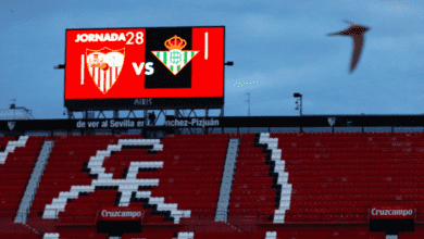 أهداف مباراة إشبيلية وريال بيتس في الدوري الإسباني