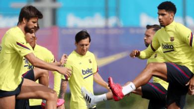 صورة تشكيلة برشلونة المتوقعة أمام ريال مايوركا في الدوري الإسباني