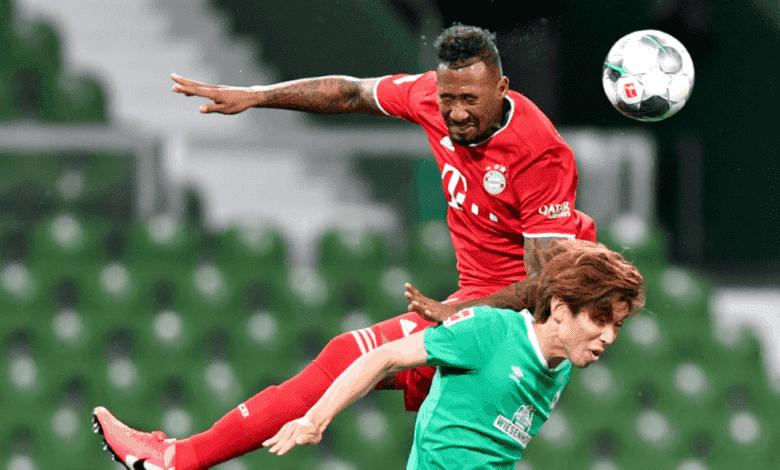 صور مباراة بايرن ميونخ وبريمن في الدوري الالماني - جيروم بواتينج
