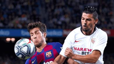 صورة بي ان سبورت تختار معلق مباراة برشلونة واشبيلية في الدوري الاسباني