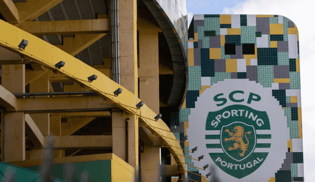 ملعب سبورتينج لشبونة جوسيه ألفالادي أحد ملاعب دوري أبطال أوروبا في أغسطس 2020