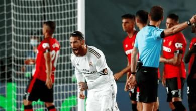 """صورة ملخص مباراة ريال مدريد ومايوركا في الدوري الاسباني """"راموس بيكهام..وروميرو الأصغر"""""""