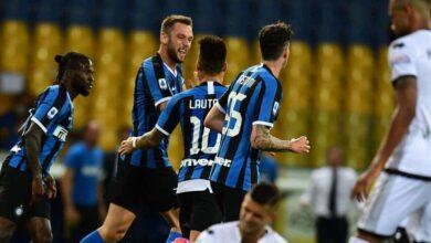 صورة الإنتر يُحافظ على بارقة الأمل في الدوري الإيطالي بالفوز على بارما