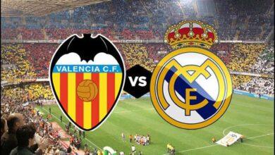 بث مباشر | مشاهدة مباراة ريال مدريد وفالنسيا في الدوري الاسباني