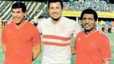 شراكة فاروق جعفر ومحمود الخطيب في تدريب مصر 1997 (صور: Elwatan)