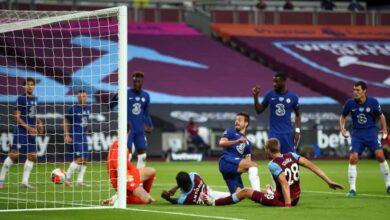 صورة أهداف مباراة تشيلسي ووست هام يونايتد فى الدوري الانجليزي