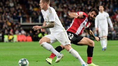 صورة زيدان يعلن قائمة ريال مدريد لمباراة أتلتيك بيلباو في الدوري الاسباني