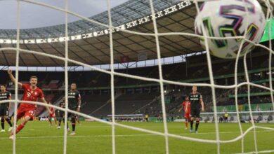 صورة أهداف مباراة بايرن ميونخ وليفركوزن في كأس المانيا