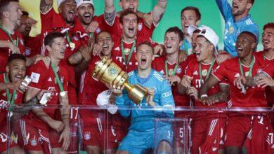 صورة بايرن ميونخ يُتوج بلقب كأس ألمانيا للمرة العشرين فى تاريخه