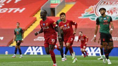 صورة ليفربول يستعيد إتزانه بفوز صعب أمام أستون فيلا فى الدوري الانجليزي