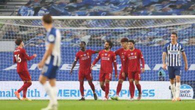 صورة صلاح يقود ليفربول للفوز على برايتون فى الدوري الانجليزي