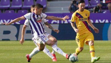 أهداف مباراة برشلونة وبلد الوليد في الدوري الاسباني