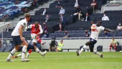 صورة أهداف مباراة ارسنال وتوتنهام في الدوري الانجليزي