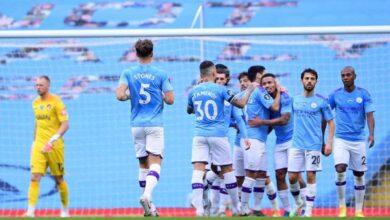 مباراة فوز السيتي على بورنموث فى الدوري الانجليزي (صور:AFP)