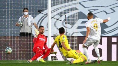 صورة أهداف مباراة ريال مدريد وفياريال في الدوري الاسباني