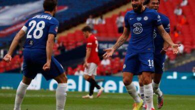 صورة تشيلسي ينتقم من مانشستر يونايتد ويقصيه من نصف نهائي كأس الاتحاد الانجليزي
