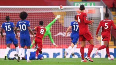 صورة فيديو أهداف مباراة ليفربول وتشيلسي في الدوري الانجليزي