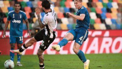 صورة فيديو أهداف مباراة يوفنتوس وأودينيزي في الدوري الايطالي