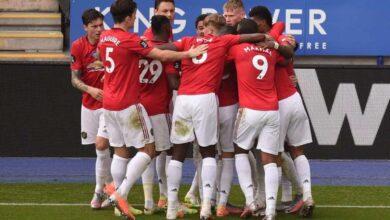 وأخيرًا..مانشستر يونايتد إلى دوري أبطال أوروبا بعد خطف المركز الثالث من تشيلسي وليستر (صور:AFP)