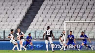 أهداف يوفنتوس وسامبدوريا في الدوري الايطالي (صور:AFP)