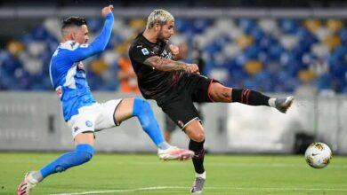 أهداف مباراة ميلان ونابولي في الدوري الايطالي (صور:AFP)