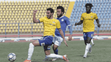 """صورة الاسماعيلي واسوان أول مباراة في مصر بعد ظهور """"كورونا"""""""