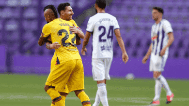 """صورة ملخص مباراة برشلونة وبلد الوليد في الدوري الاسباني """"فيدال يُنقذ البرسا من كمين بوسيلا"""""""