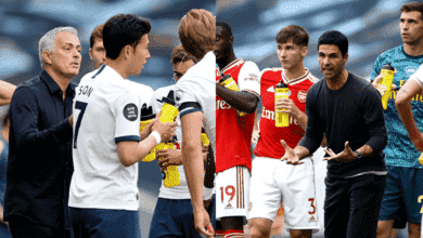 """صورة ملخص مباراة ارسنال وتوتنهام في الدوري الانجليزي """"مورينيو يقلب الطاولة على آرتيتا"""""""