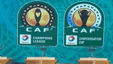صورة الجدول المحدث لمباريات دوري أبطال أفريقيا والكونفدرالية 2020