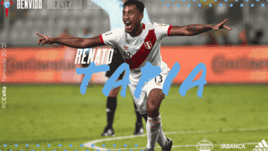 """سلتا فيغو يقتنص توقيع النجم البيروفي """"ريناتو تابيا"""""""