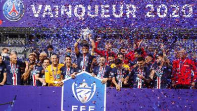 صورة نيمار يمنح باريس سان جرمان لقبه الثالث عشر في كأس فرنسا