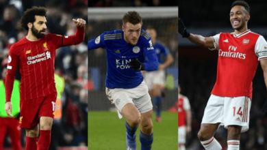 """صورة تعرف على ترتيب أفضل 15 لاعبًا في الدوري الانجليزي من رابطة الكتاب """"غياب محمد صلاح وفاردي""""!"""